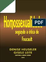 Homossexualidade Sob a Ótica de Foucalt