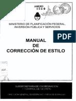 manual de corrección de estilo