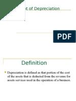 Concept of Depreciation