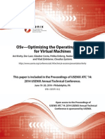 OSv - Optimizing the Operating System for Virtual Machines