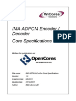 IMA+ADPCM+EncDec+Core+Specifications