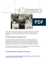 History of Commerce Notes