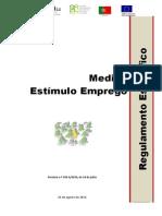 Regulamento - Estimulo Emprego- 19-08-2014 Vf