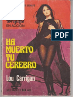 Carrigan Lou Ha Muerto Tu Cerebro