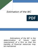 Estimates of WC
