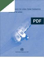 WHO Adherence 2003