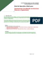 Coordinador de Servicios Conexos y Captaciones