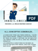 Administración Unidad 6