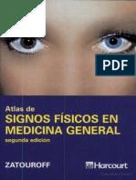 Atlas de Signos Físicos en Medicina General 2ª Ed - Zatouroff