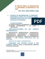 Material de Apoyo Para Elaboración de Trabajos e Informes Académicos