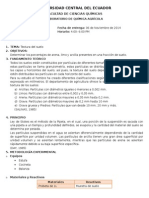 Informe de Agricola 2 Textura de Suelos