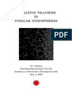 Rutten - Stellar Atmospheres