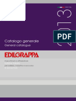 Edilgrappa General Catalogue 2014