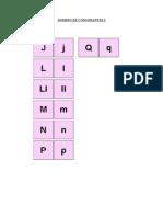 Domino de Consonantes 2