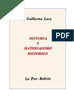 Historia y Materialismo Histórico