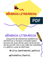 GÊNEROS LITERÁRIOS (1)