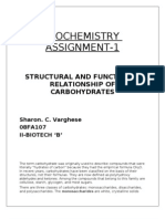 Structural And Functional Properties of Carbohydrates