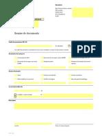 Exportation Remise de Documents f