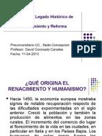 Clase Guía n° 8 - Renacimiento y Reforma