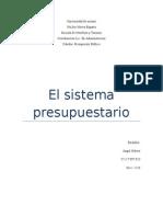sistema presupestario venezolano