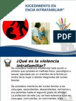 Procedimiento de Violencia Intrafamiliar Sbte Recalde Campos Jorge Luis