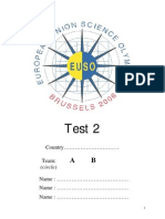 TEST2 Final Version English Euso 2006