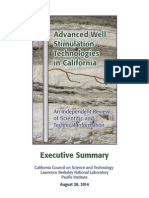 CCST Aug 2014 32pp - Exec Summary Well Stimulation Technologies in CA.pdf