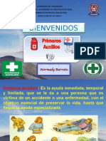 Taller de Primeros Auxilios Normaly (Iuta)
