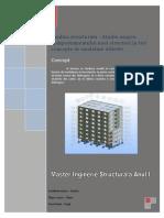 Analiza Structurala - 3 Contepte Diferite de Modelare a Structurilo