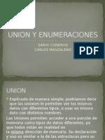 Union y Enumeraciones