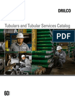 Tubulars Tubular Services Catalog oilfield