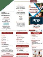 Brochure Ingles Enero 2015
