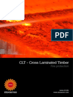Stora Enso CLT Documentation on Fire Protection English
