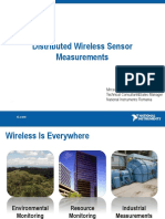Distributed Wireless Sensor Measurements