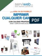 Catálogo impresión