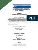 Reporte Tema I -Penología