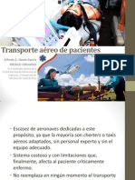 Transporte Aéreo de Pacientes