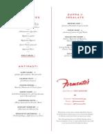Formento's Dinner