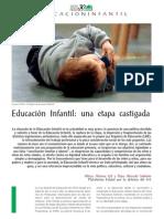 CEAPA_REVISTA102_CICLO 0-6 AÑOS_LA EDUCACION INFANTIL UNA ETAPA CASTIGADA