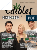 Edibles List Magazine January 2015 Colorado Issue