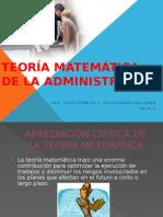 Teoria Matematica de La Administracion 2007