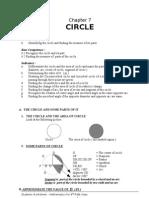 Chapter 7. Circle
