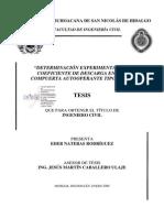 DETERMINACIONEXPERIMENTALDELCOEFICIENTEDEDESCARGAENUNACOMPUE.pdf