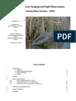 YERII 2014 - Courtenay River Estuary Great Blue Heron Report 2014