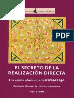 El Secreto de La Realización Directa (I. K. Taimni)
