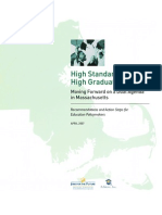 High Standards and High Graduation Rates