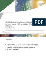 SUMO Presentation
