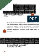 Plan de Desarrollo Del Estado de Chihuahua Presentacion
