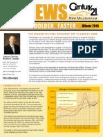 Jason Carrier Winter Newsletter