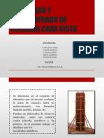 ENCOFRADO Y DESENCOFRADO DE COLUMNA CARA VISTA